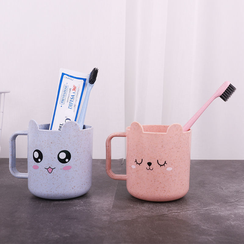 Cute Cartoon Face Designed Cup for Children's Drinkware