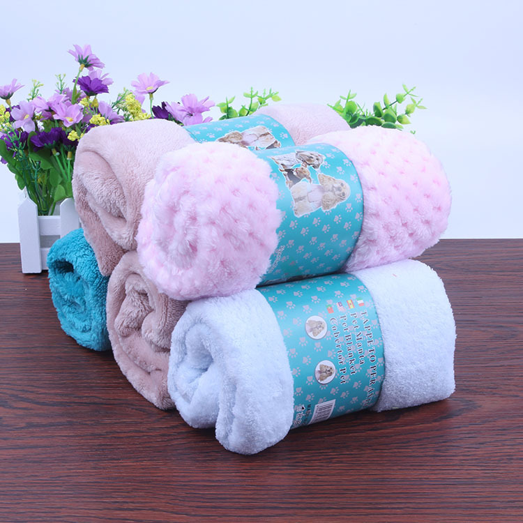 Soft Water-Absorbent Pets Blankets for Pets Winter Warmth