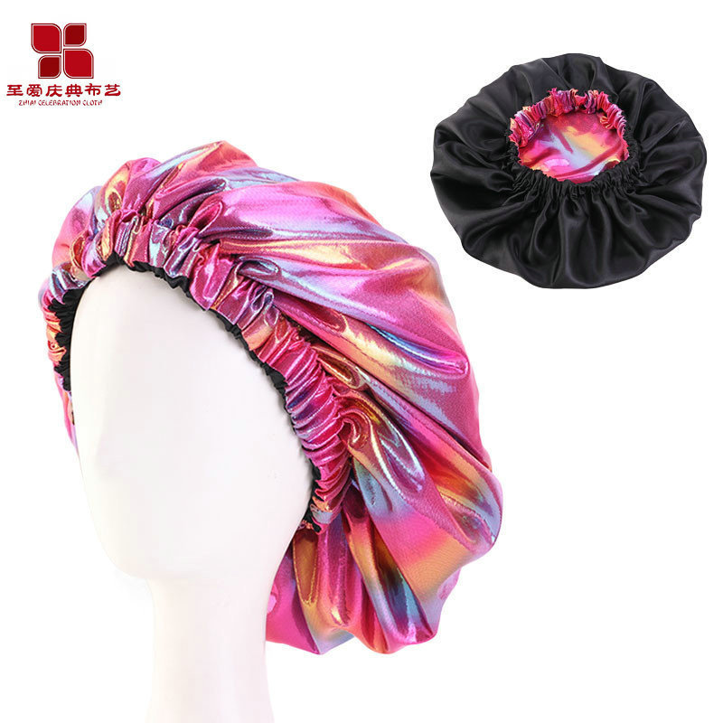 Water-Resistant Polychromatic Hair Cap for Keeping Hair Healthy