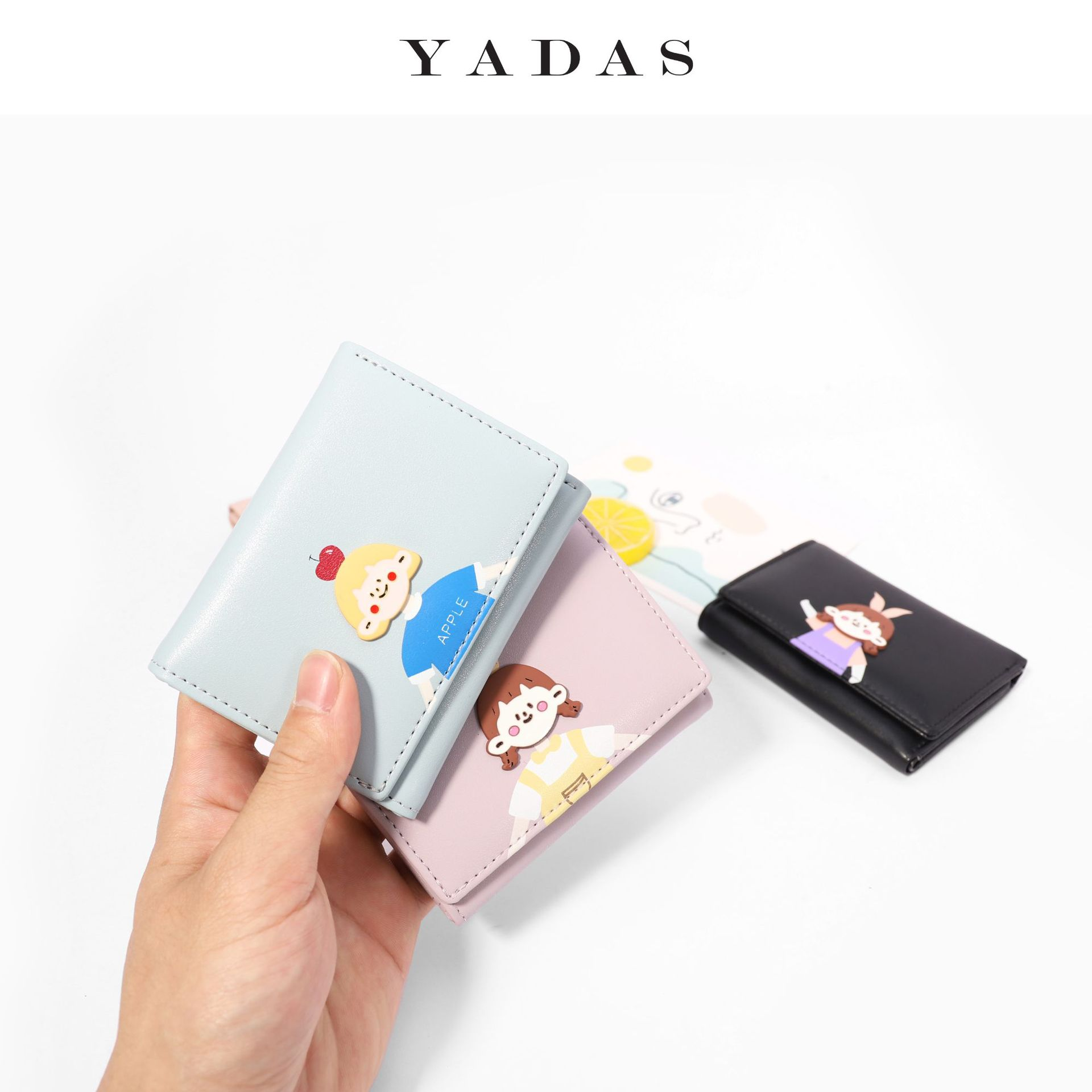 Adorable Printed Folded Wallet for Birthday Gifts