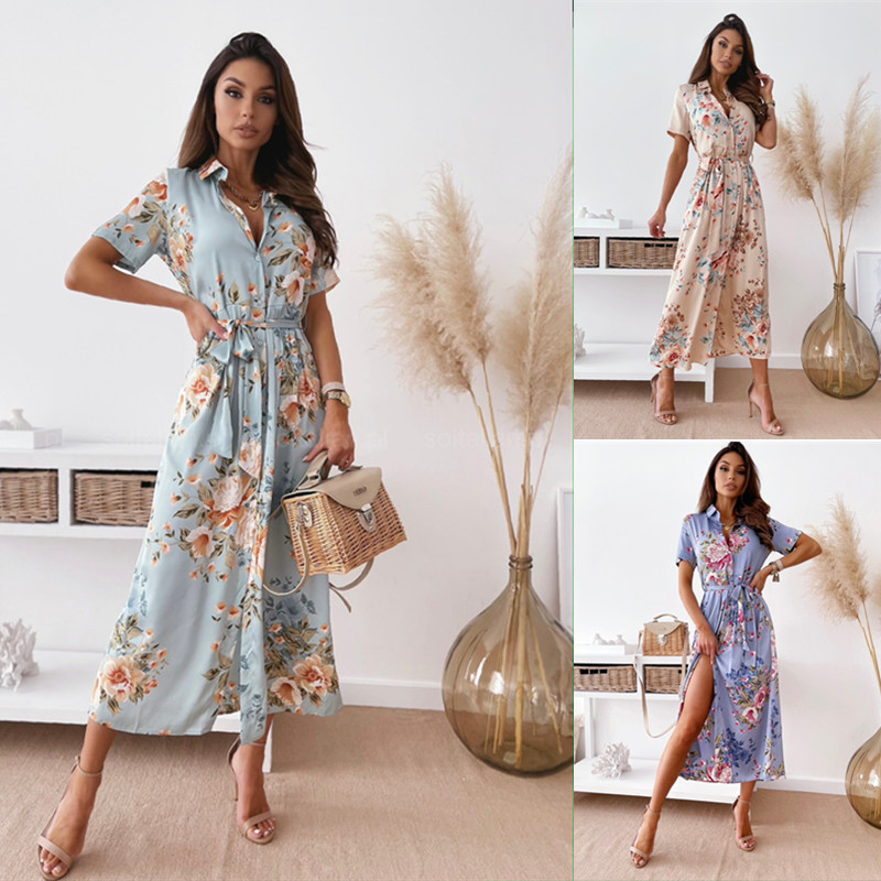 Dainty Floral Dress for Stylish Spring Festivals