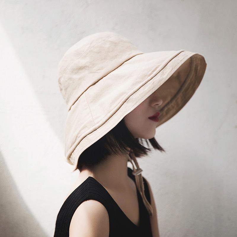Basic and Fashionable Sunscreen Hat for Summer Fashion