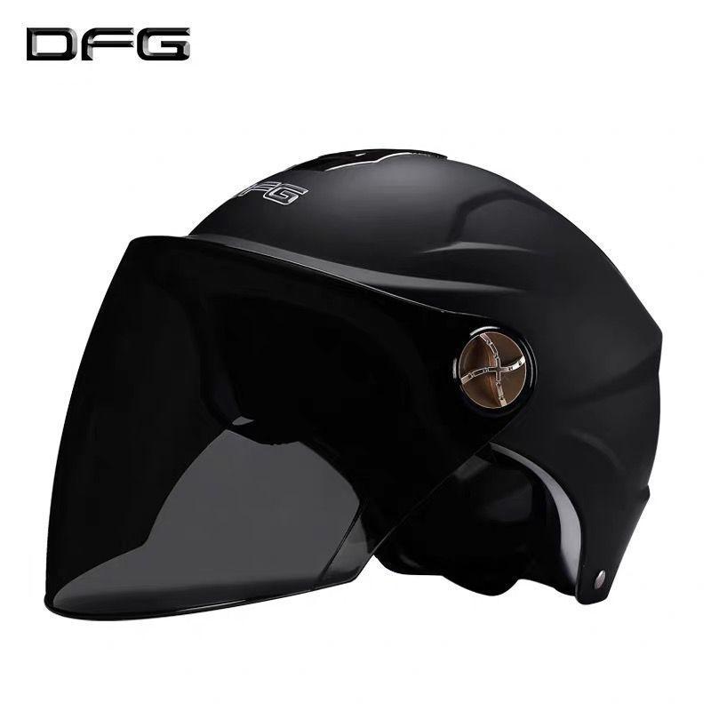 Shiny Lightweight Half Helmet for Safe Outdoor Rides