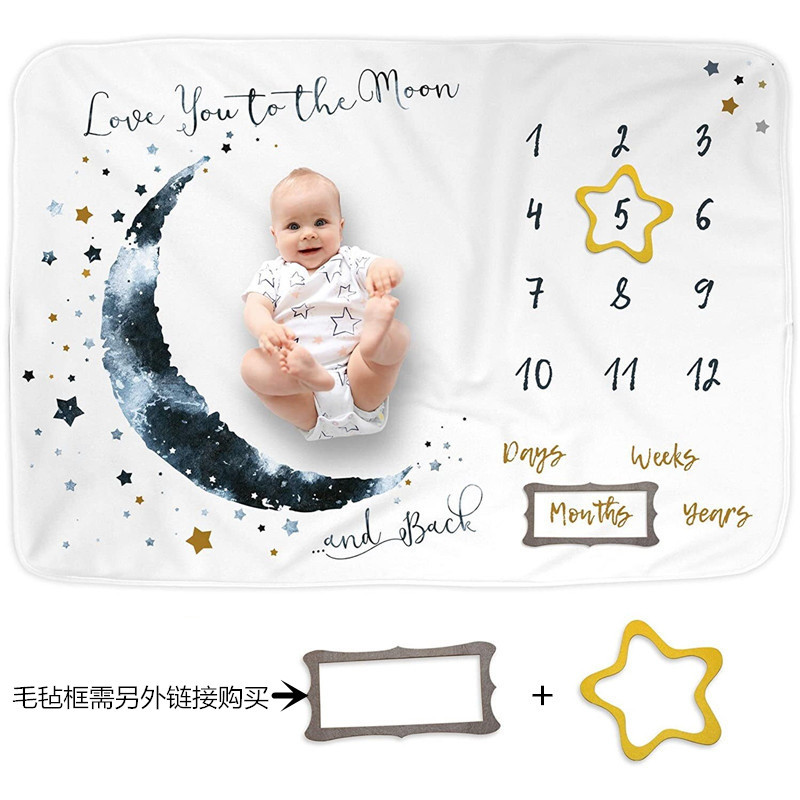 Soft Creative Printed Baby Blankets for Months Old Baby