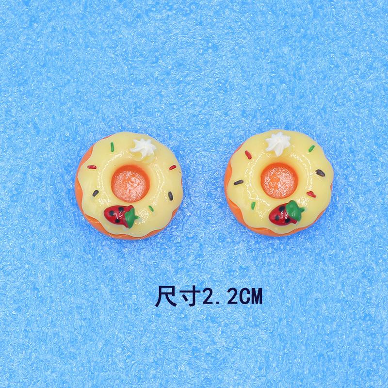 Lovely Donuts Plastic Resin Miniature for Kids Enjoyment