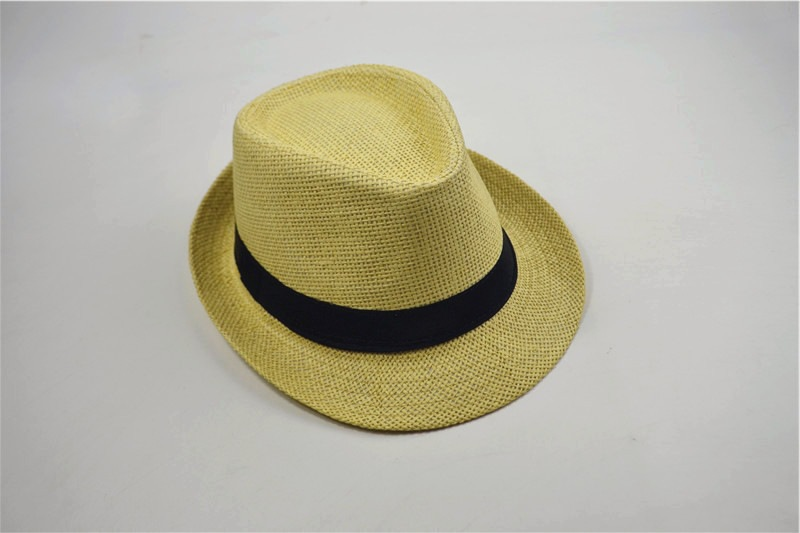 Classic High-Quality Straw Hat for Going to the Beach in Fabulous Style