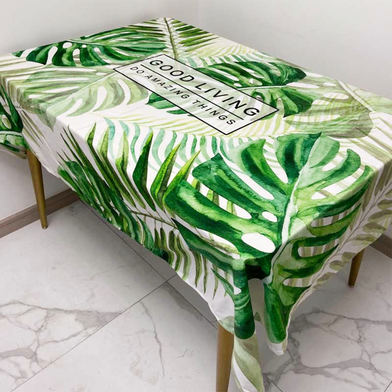 Eye-Catching Nordic Style Tablecloth for Kitchen Table Cover