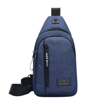 High-Quality Multi-Compartment Chest Bag for Leisure Wear