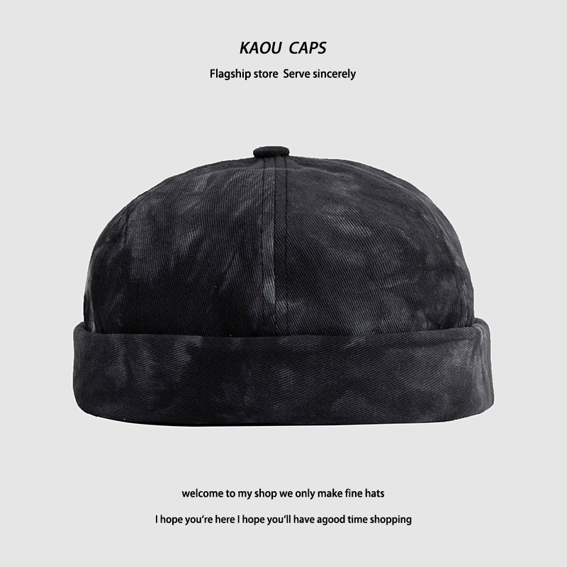 Fashionable Rolled-Cuff Bucket Hat for Korean-Inspired Outfits