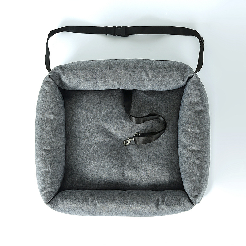 Soft Sleek Upscale Removable Pet Seat for Long Road Trips