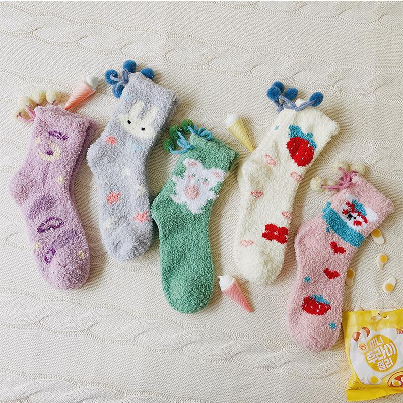 Cute Comfortable Warm Socks for Daily Wear