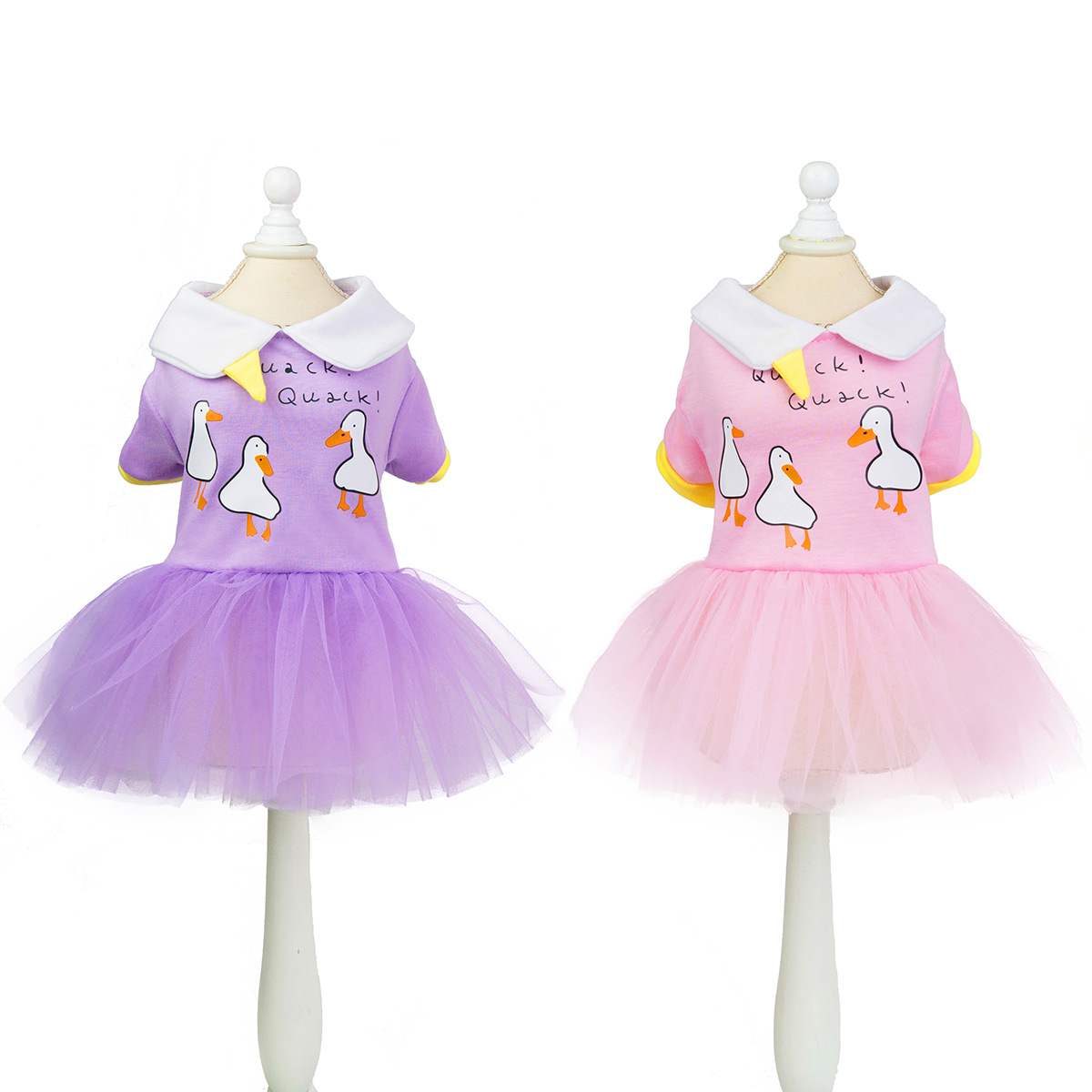 Adorable Pastel-Colored Pet Dress for Home Parties