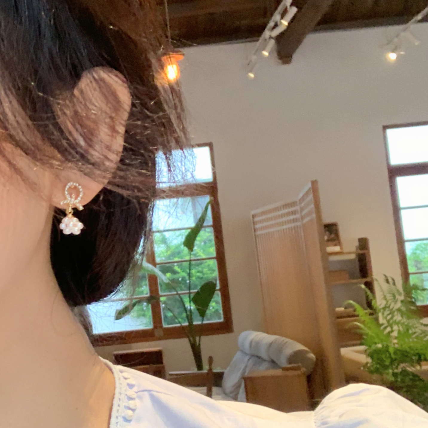 Dashing Fairy Faux Pearl Earrings for Matching Dainty Outfits