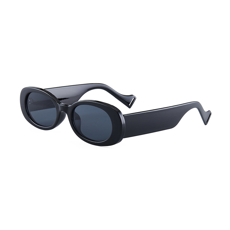 Retro Small Frame Shades for Matching with Aesthetic Summer Outfit