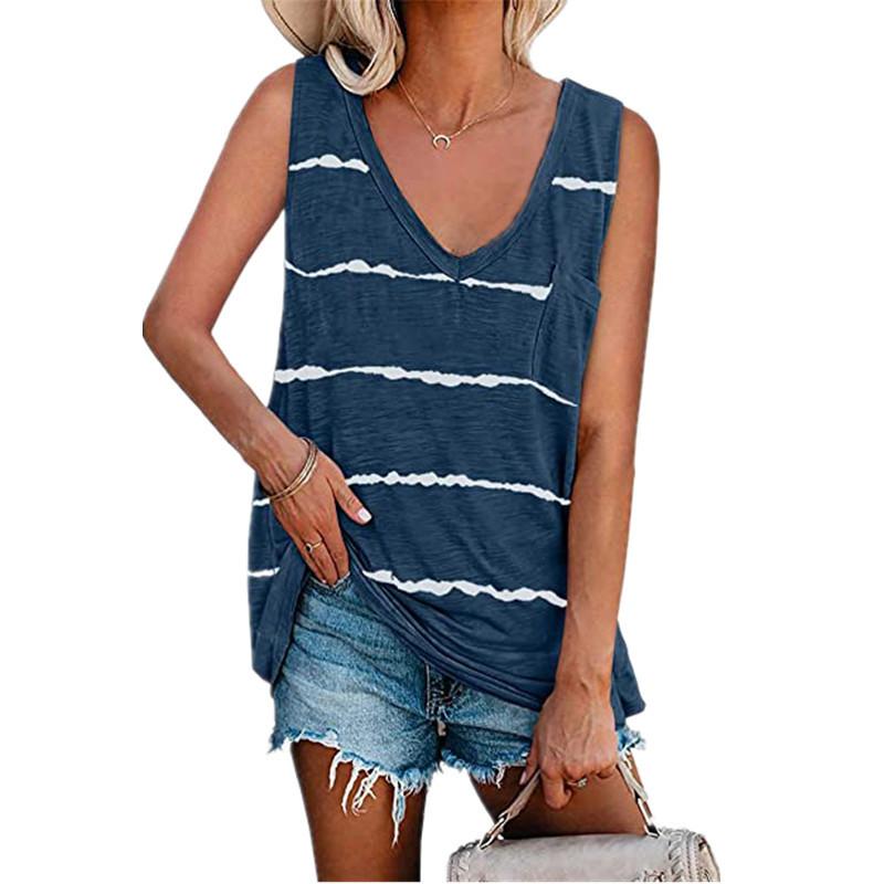 Striped Sando for Ladies Urban Fashion