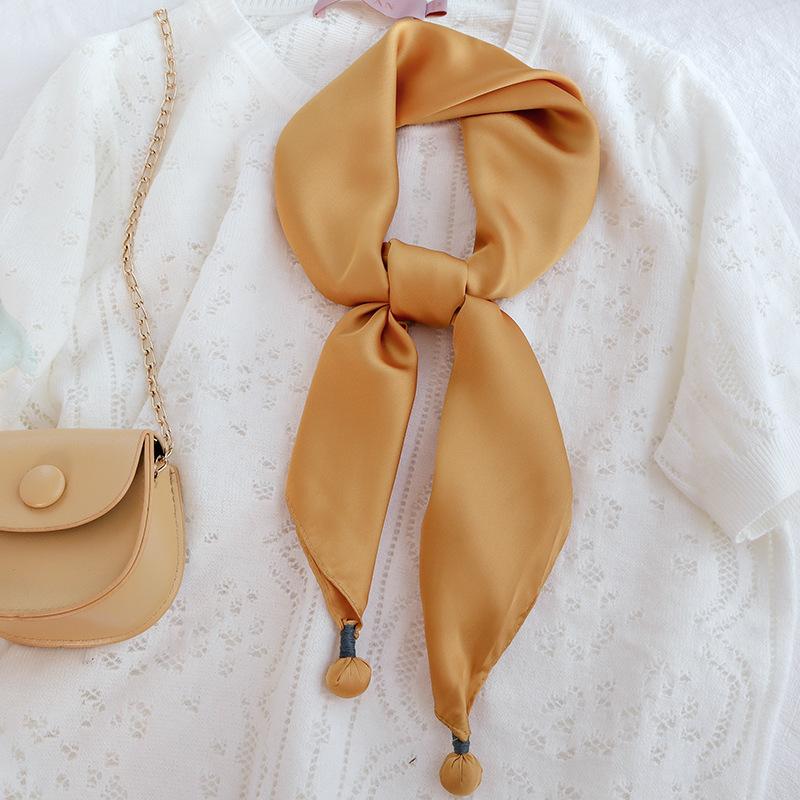 Classy Artificial Silk Scrunchies for Elegant Hair Tie