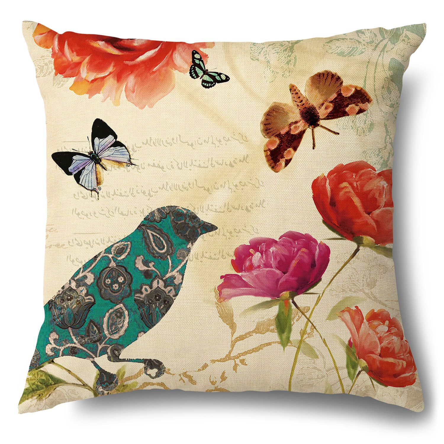 One-with-Nature Pillow Cover for Cute Living Room Decor