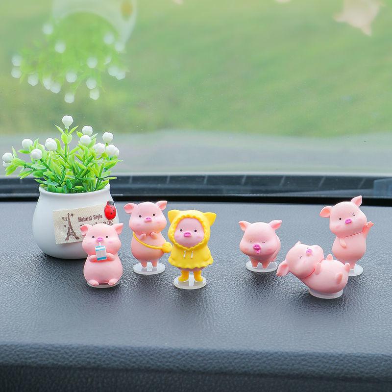 Super Cute Pigs Car Decoration for Adorable Car Accessories
