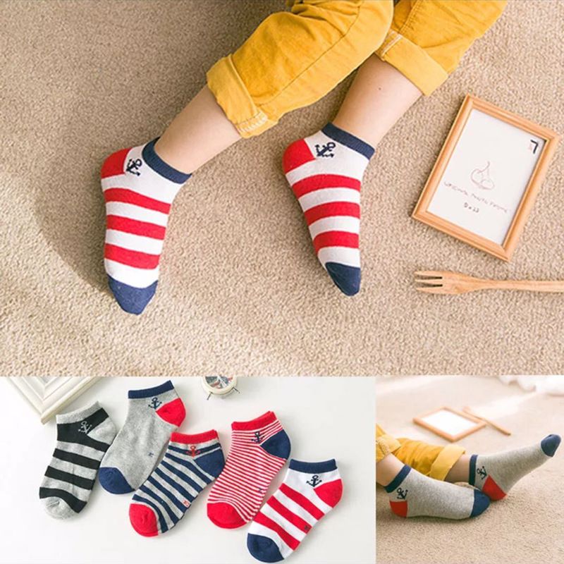 Breathable Nautical-Themed Socks for Everyday Wear