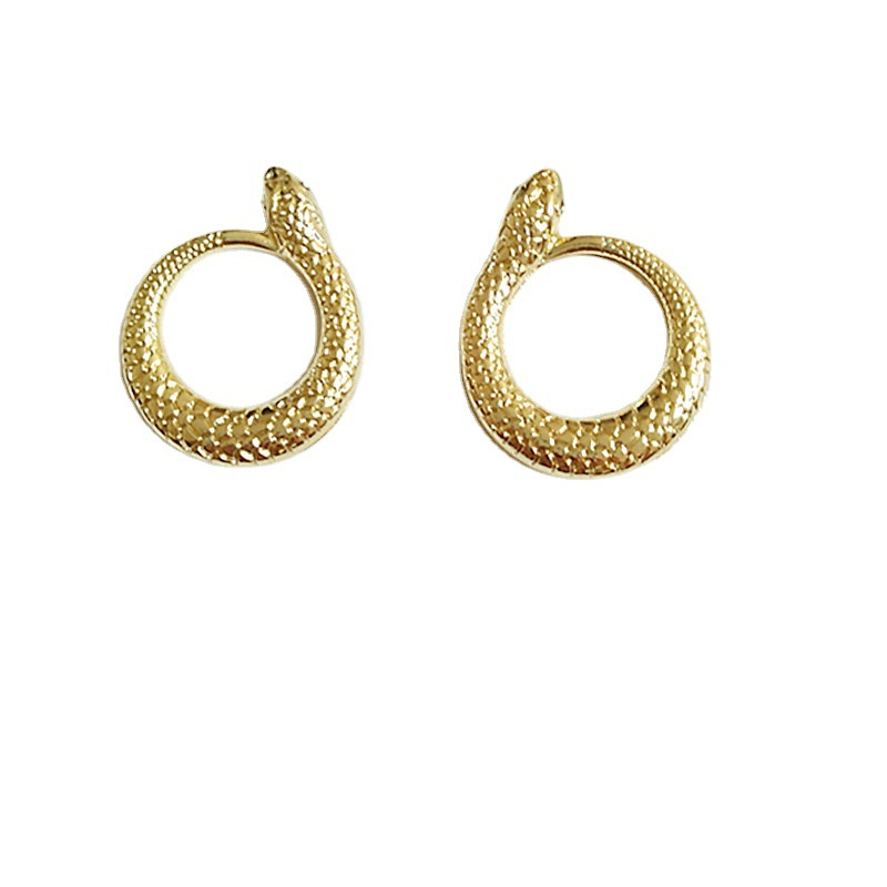 Trendy Alloy Snake Earring for Casual Fashion