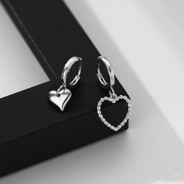 Stylish Heart Earrings for Cutesy Preppy Look