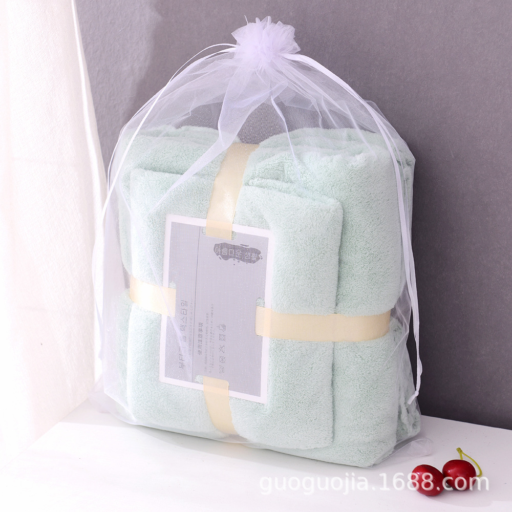 Thick Plain Color Blankets Set for Birthday and Christmas Gifts