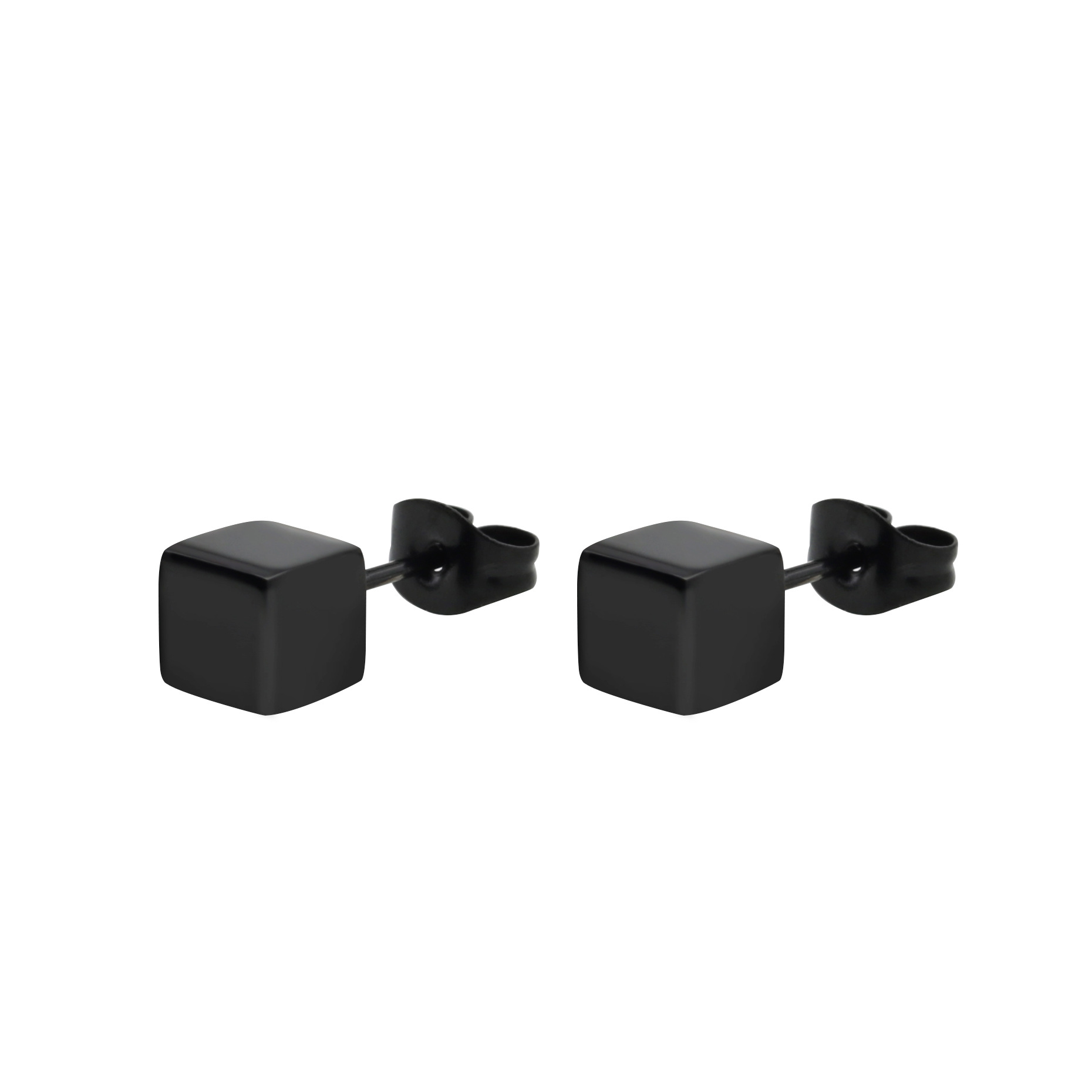 Stylish Square Stainless Steel Earrings for Fashionable Look