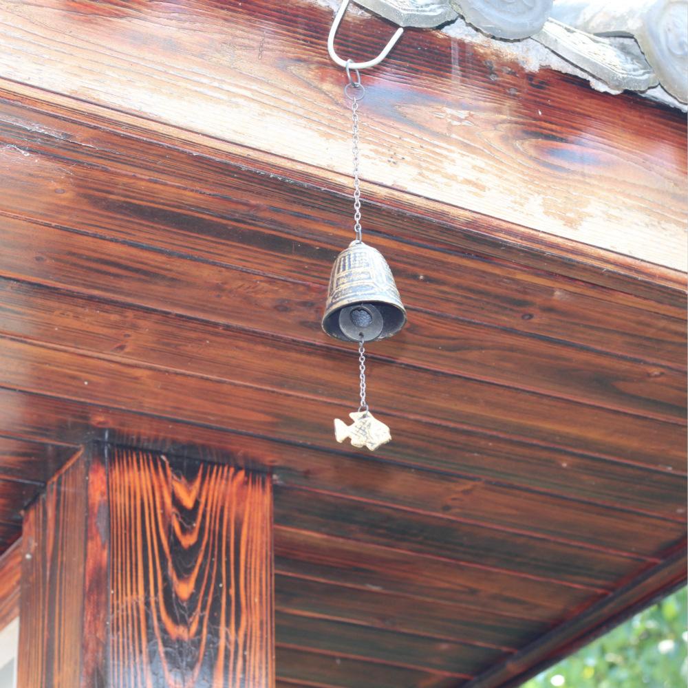 Decorative Iron Wind Chimes for Retro Home Ornaments