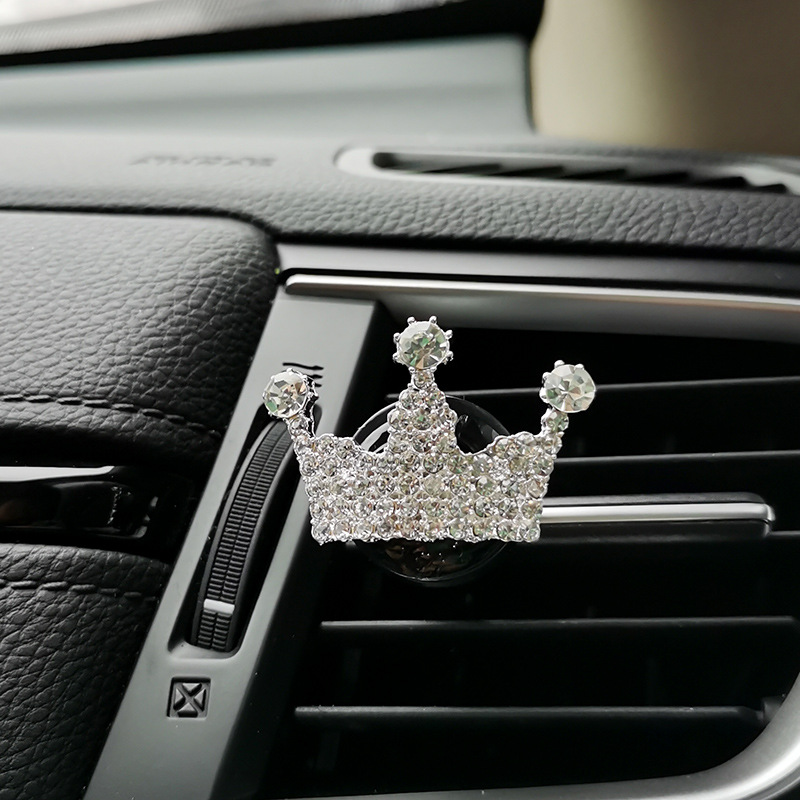 Creative Crown Perfume Clip for Women Car Owners