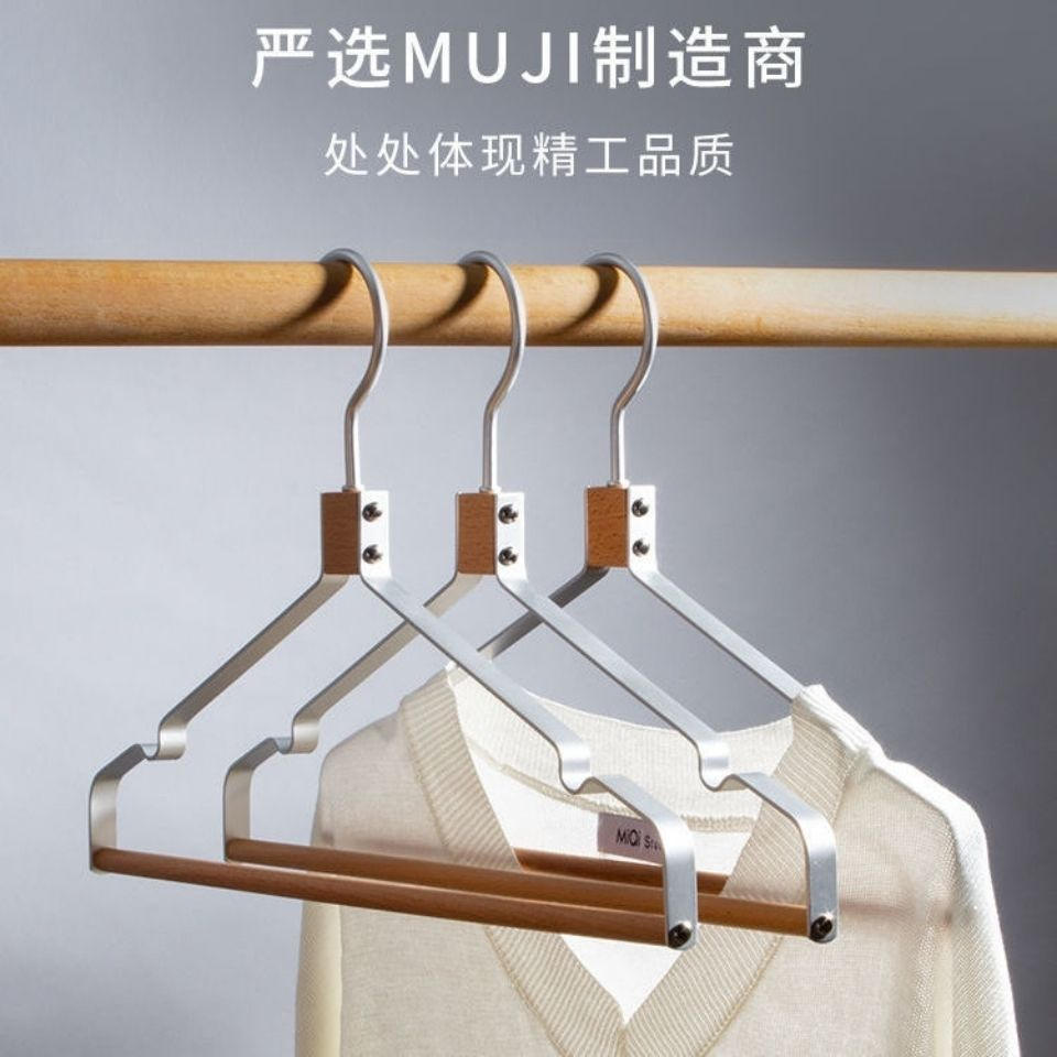 Stylish Wood and Steel Clothes Hanger for Organizing Your Wardrobe