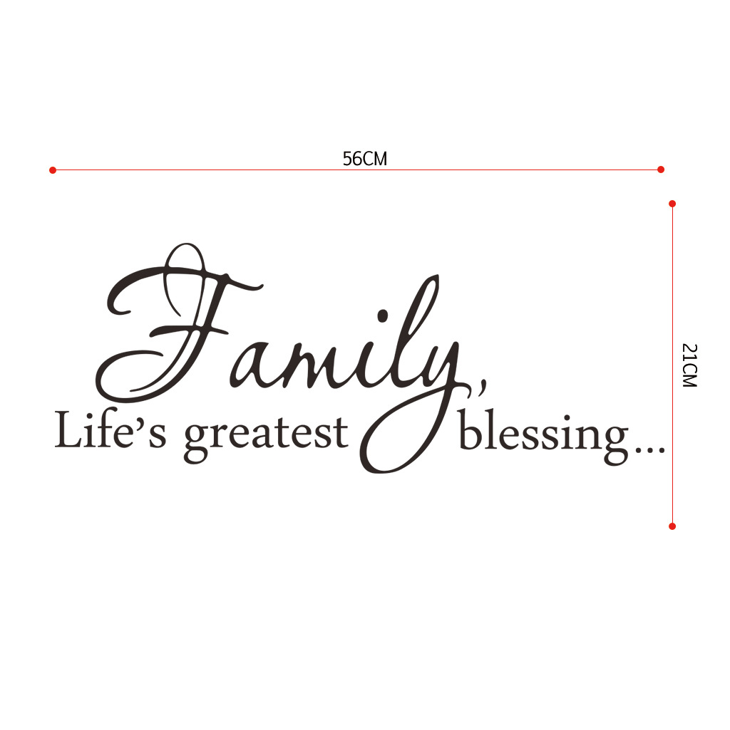 Inspiring Quotation Wall Sticker for Home Display
