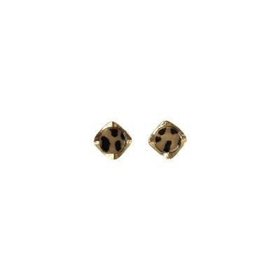 Alluring Leopard Pattern Earrings for Street Fashion