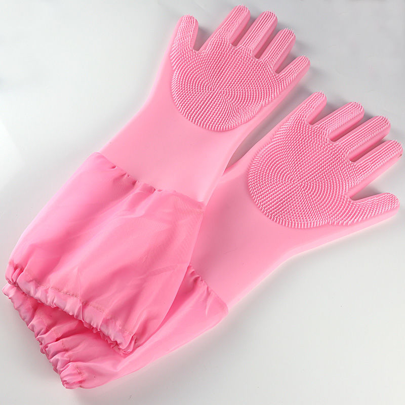 Multi-Functional Silicone Gloves for Washing Dishes