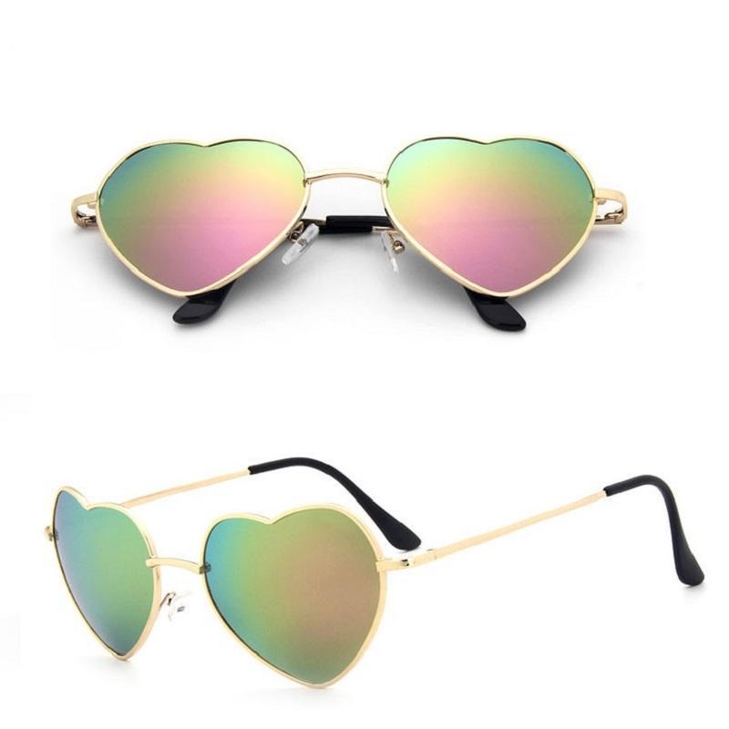 Heart Metal Sunglasses