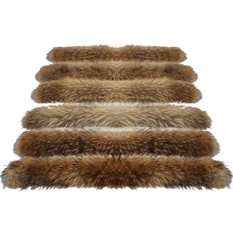 Raccoon Fur Ball