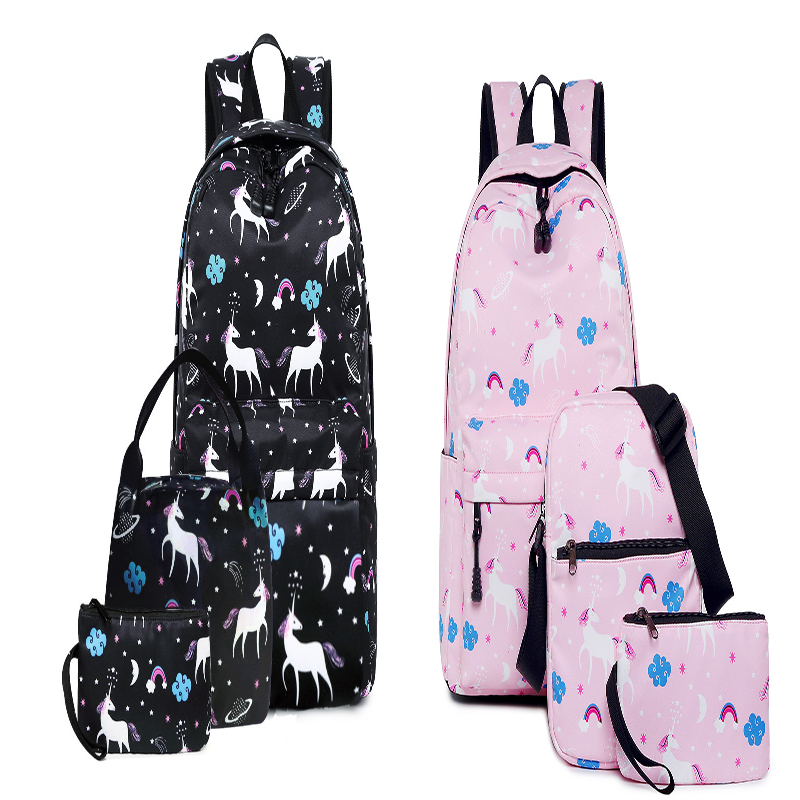 Unicorn 3-piece Backpack