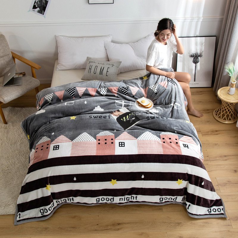 Karin Printed Polyester Blanket