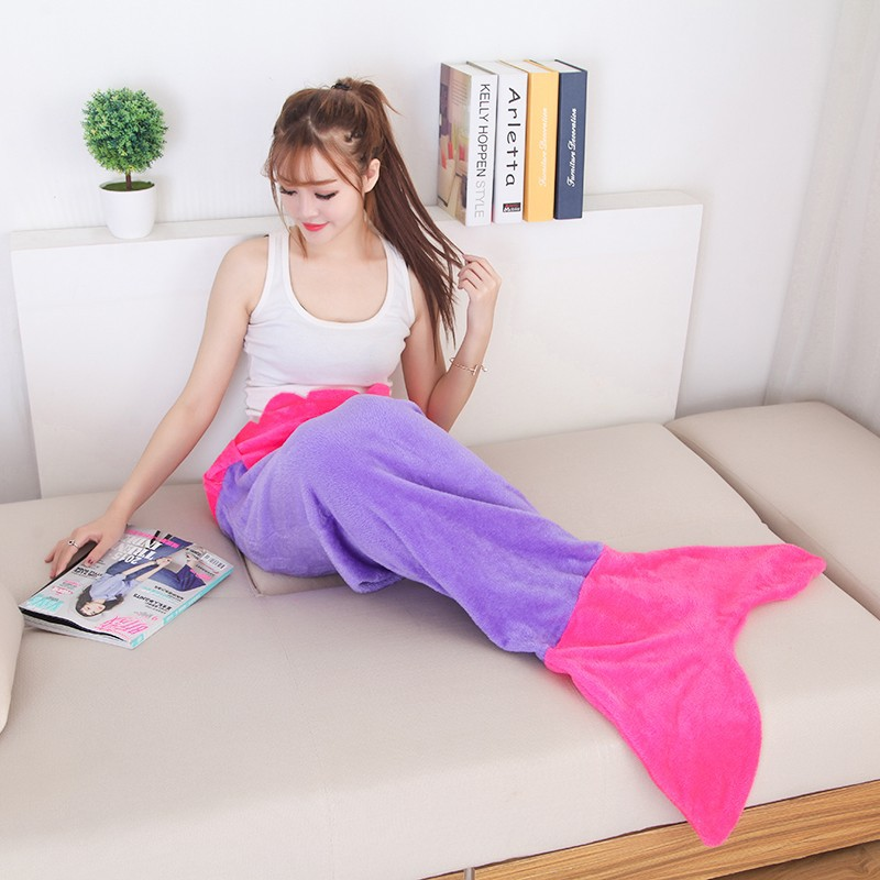 Fancy Wearable Tail Blankets for Funny Sleepovers