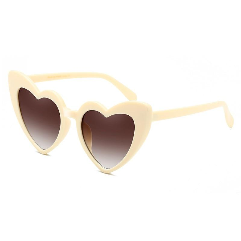 Cupid's Oversized Heart Sunglasses