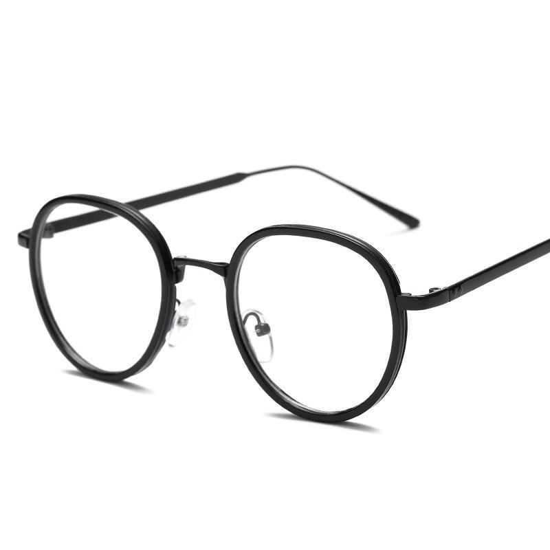 Retro Round Eyeglasses