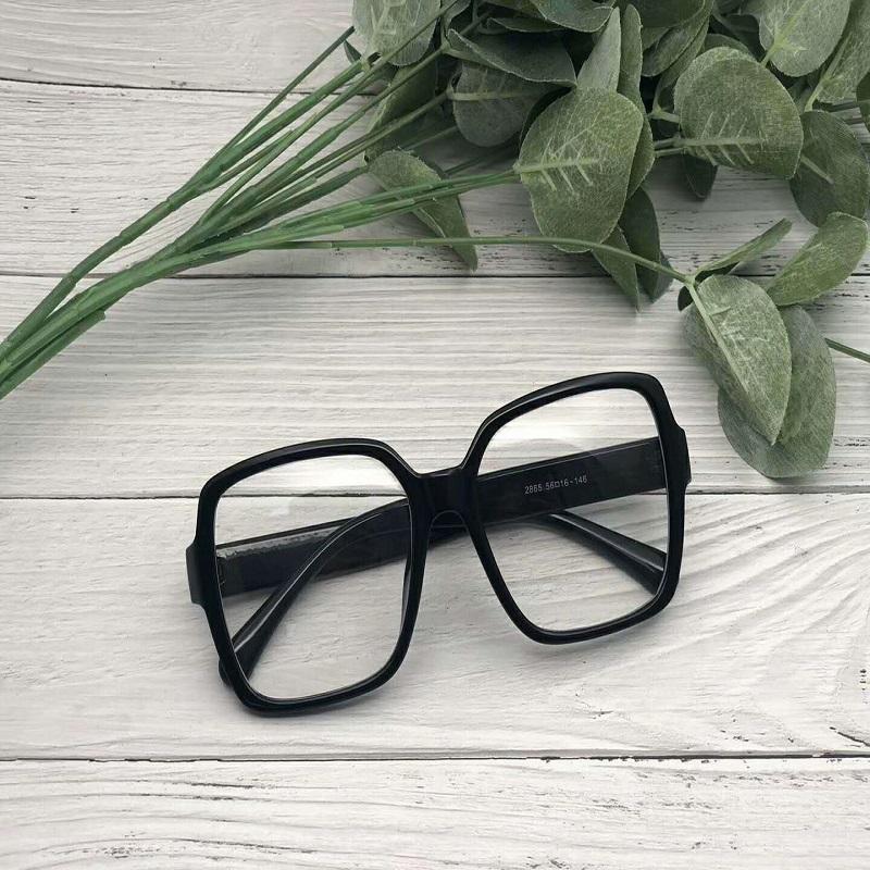 Thick Rectangular Sunglasses