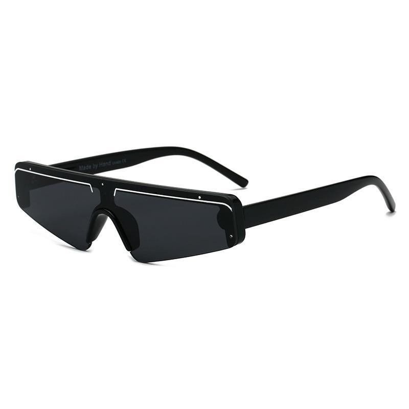 Futuristic Men's Cat Eye Sunglasses