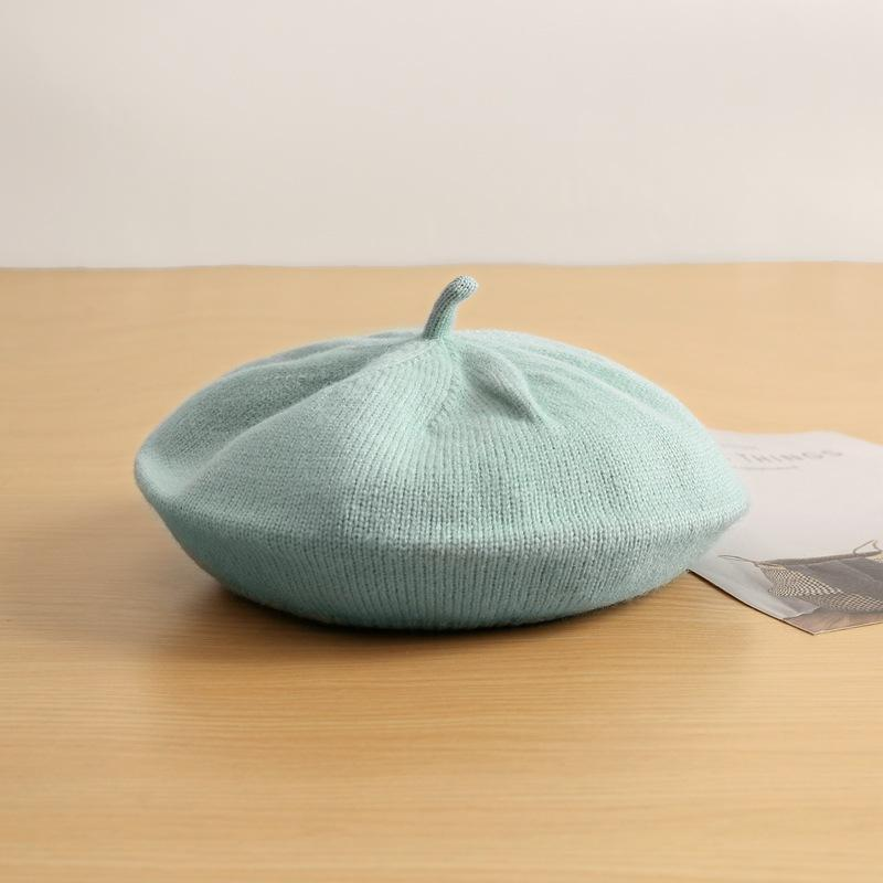Pastel Knitted Berets