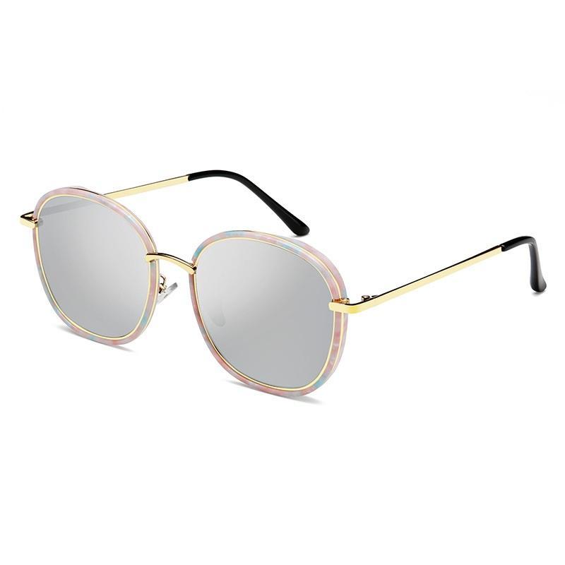 Gold Border Frame Sunglasses