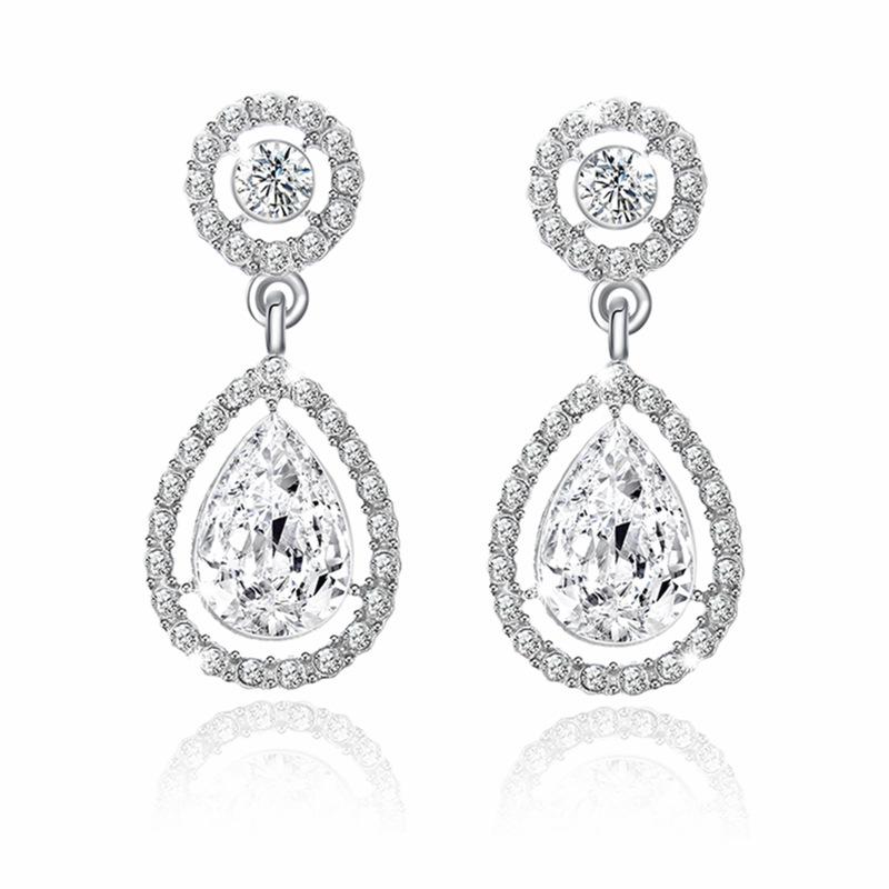 Grenima Crystal Earrings