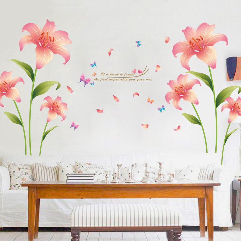 Flora Beauty Wall Stickers