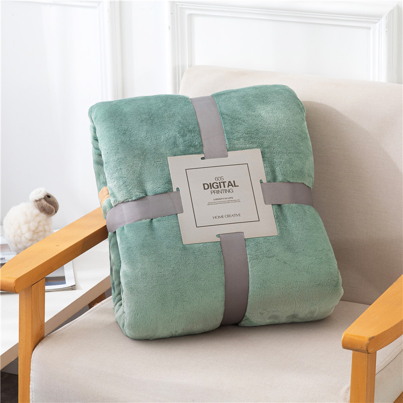 Extra-Warm Lightweight Falai Fleece Blanket for Staying Warm