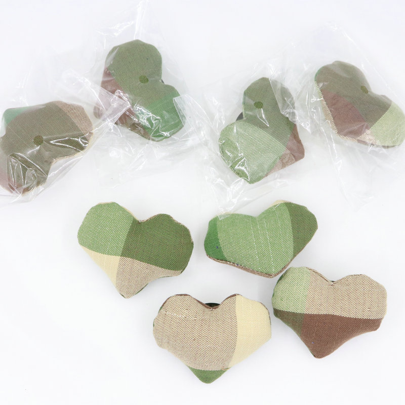 Patchwork Heart Pins