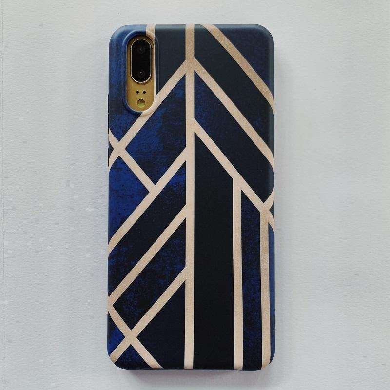 Wind's Direction Blue Huawei Phone Case