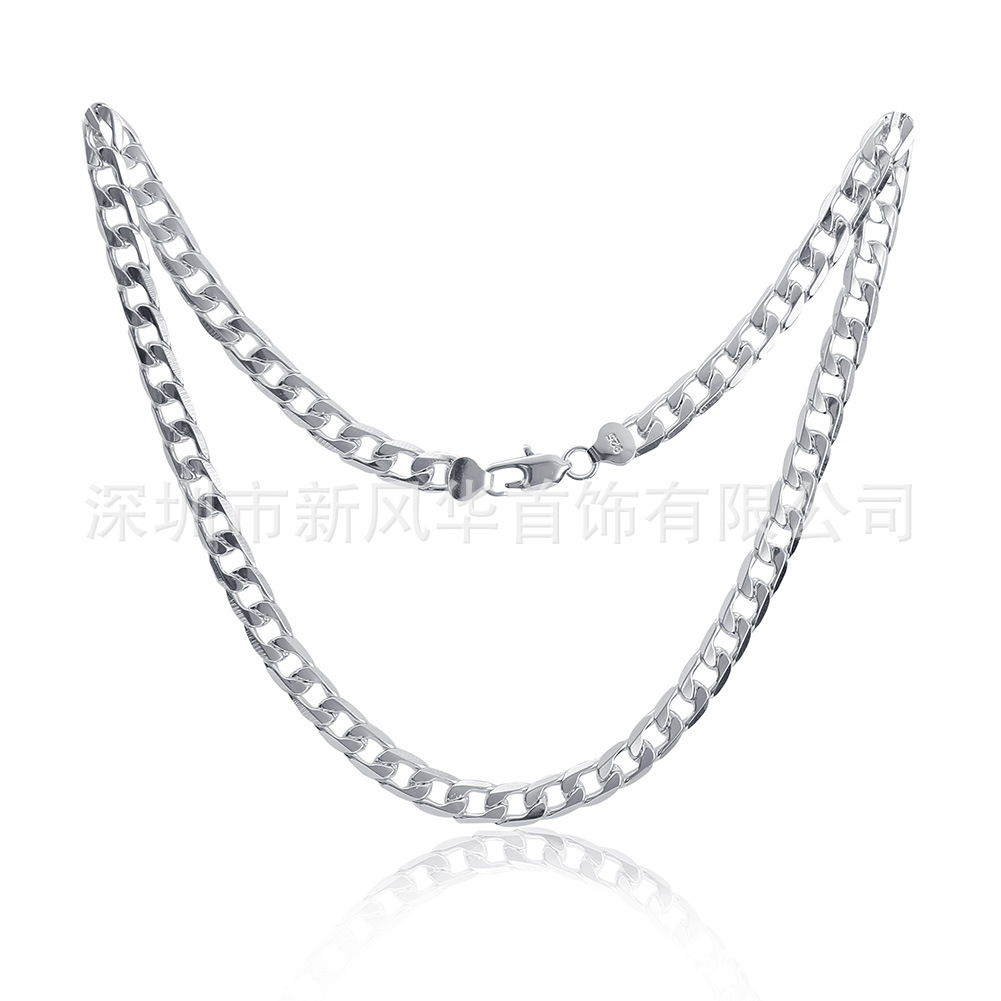 Classic Copper Curb Chain Necklace for Stylish Outfits